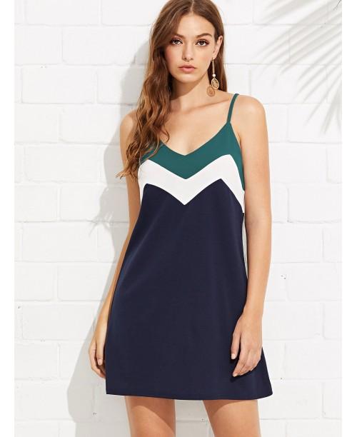 Cut and Sew Cami Dress
